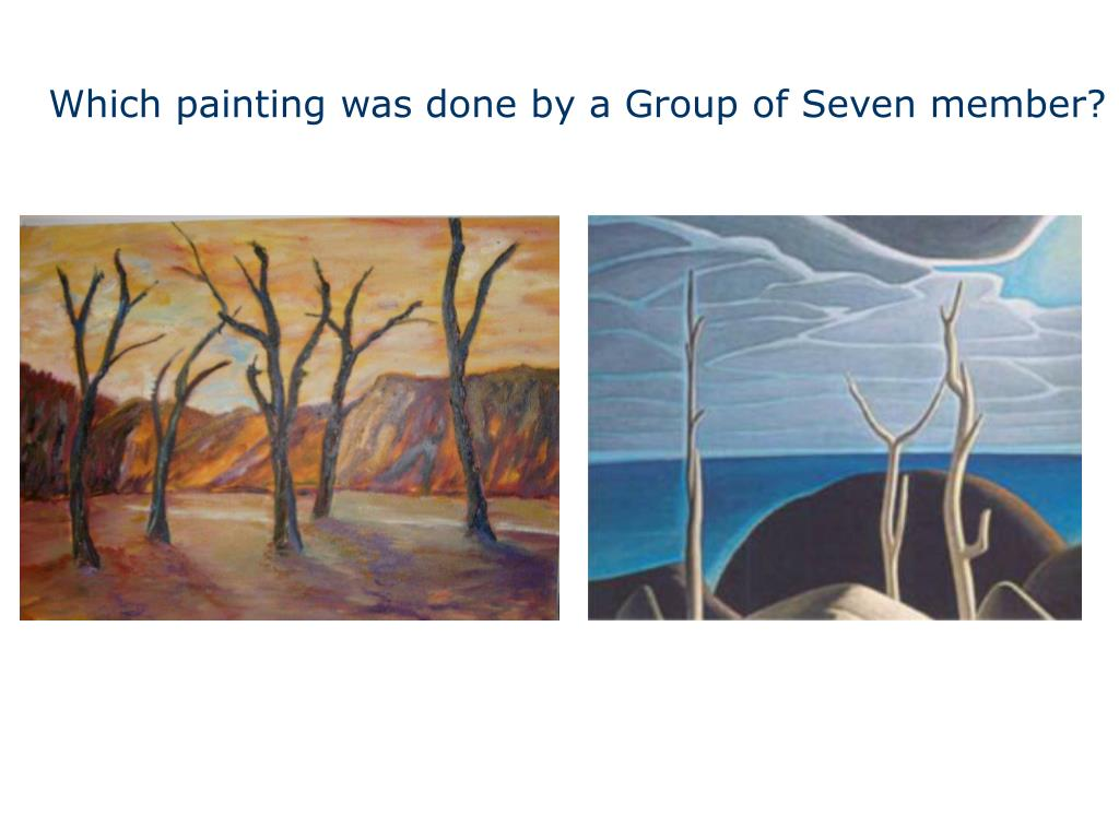 Which painting was done by a Group of Seven member?