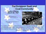 the european steel and coal community6