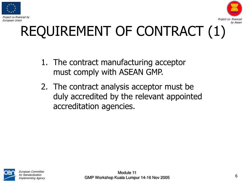 REQUIREMENT OF CONTRACT (1)