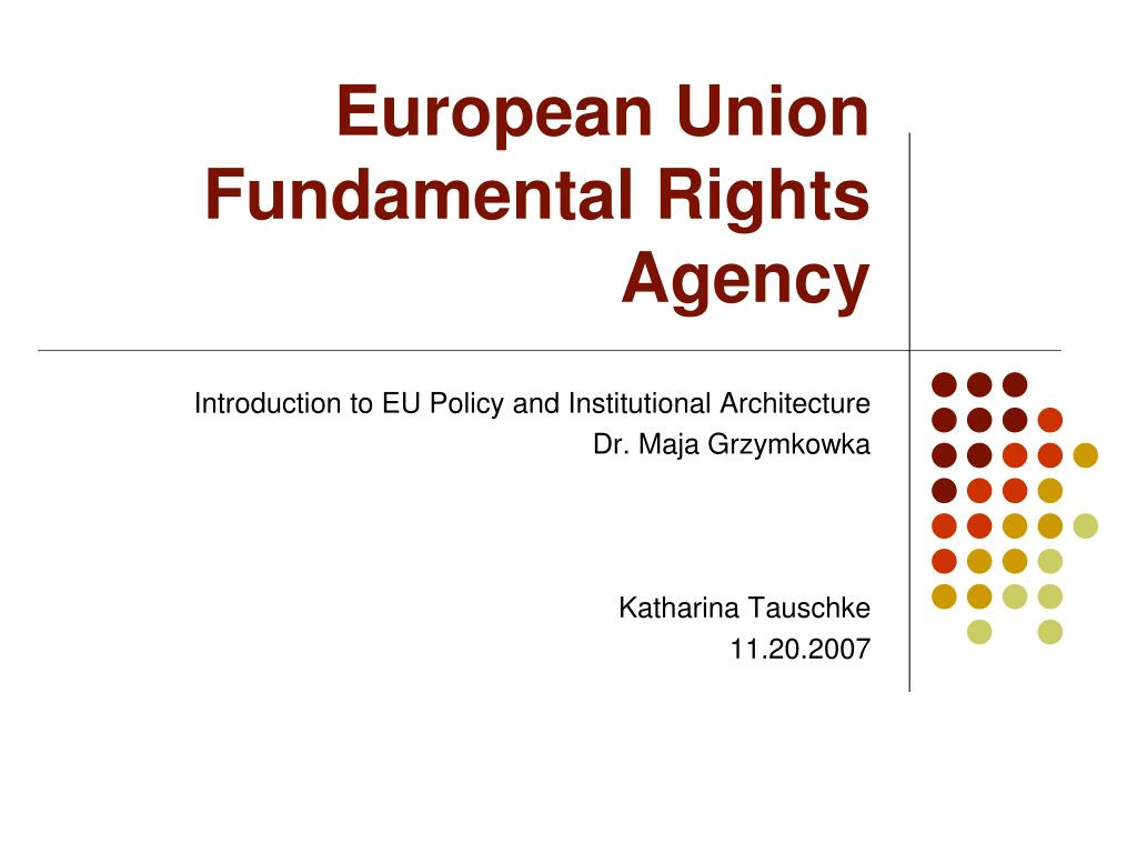 european union fundamental rights agency l.