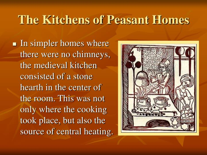 The Kitchens of Peasant Homes