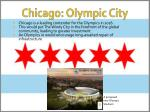 chicago olympic city