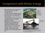 comparisons with illinois energy