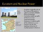 euratom and nuclear power