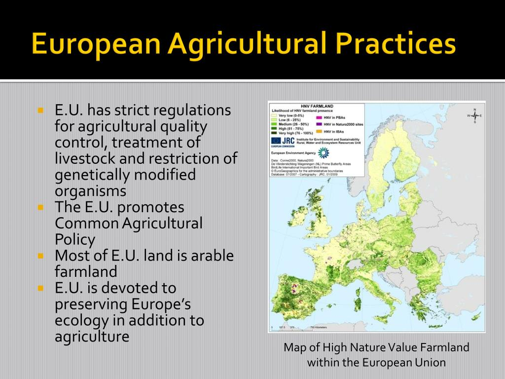 European Agricultural Practices