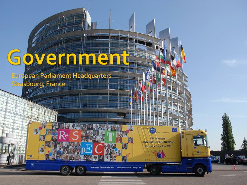 European Parliament Headquarters Strasbourg, France