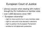 european court of justice21