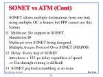 sonet vs atm cont2