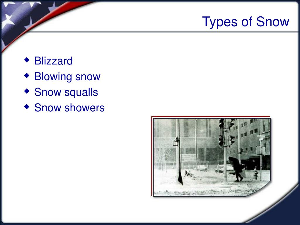 Types of Snow