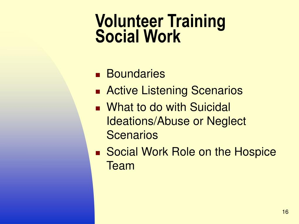 PPT - Volunteers PowerPoint Presentation - ID:829944