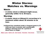 winter storms watches vs warnings