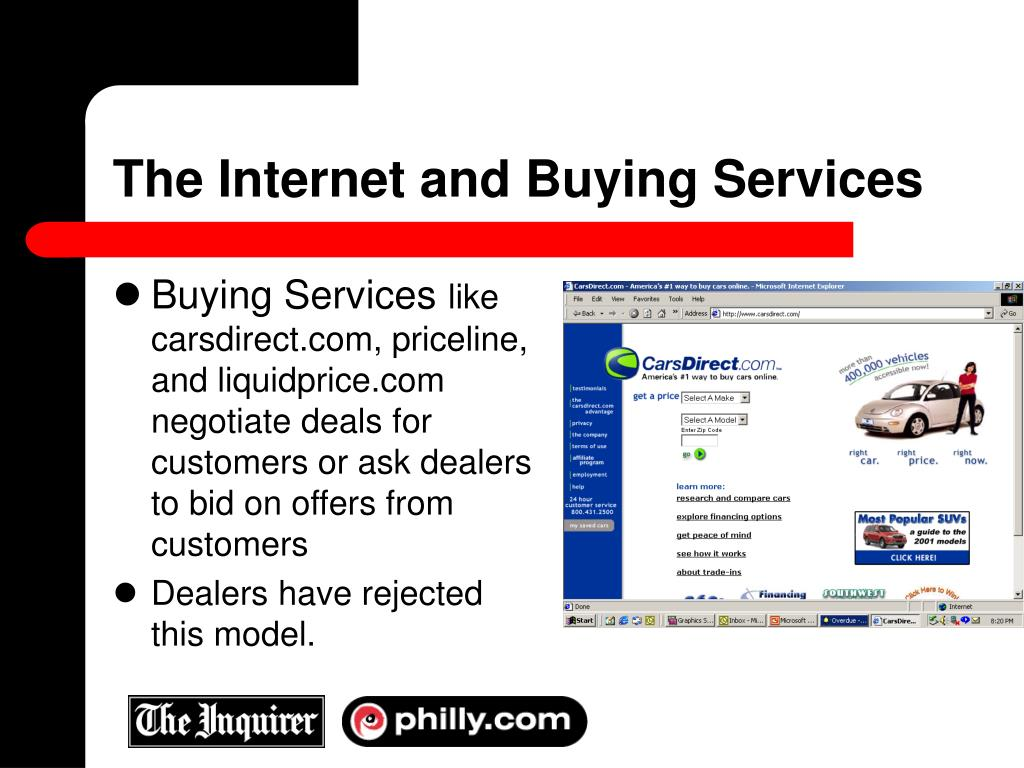 The Internet and Buying Services