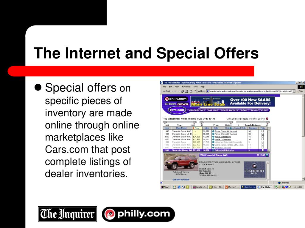 The Internet and Special Offers