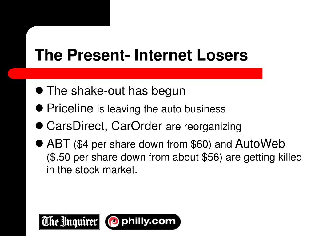 The Present- Internet Losers