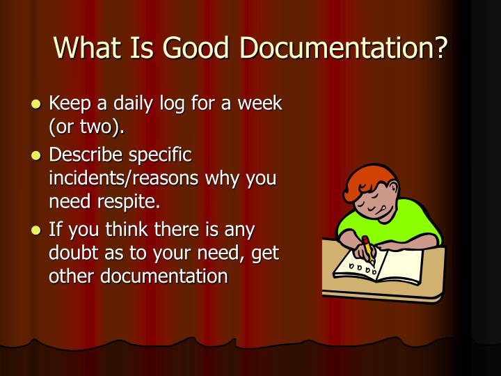 What Is Good Documentation?