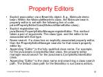 property editors