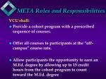 meta roles and responsibilities