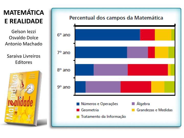 MATEMÁTICA E REALIDADE