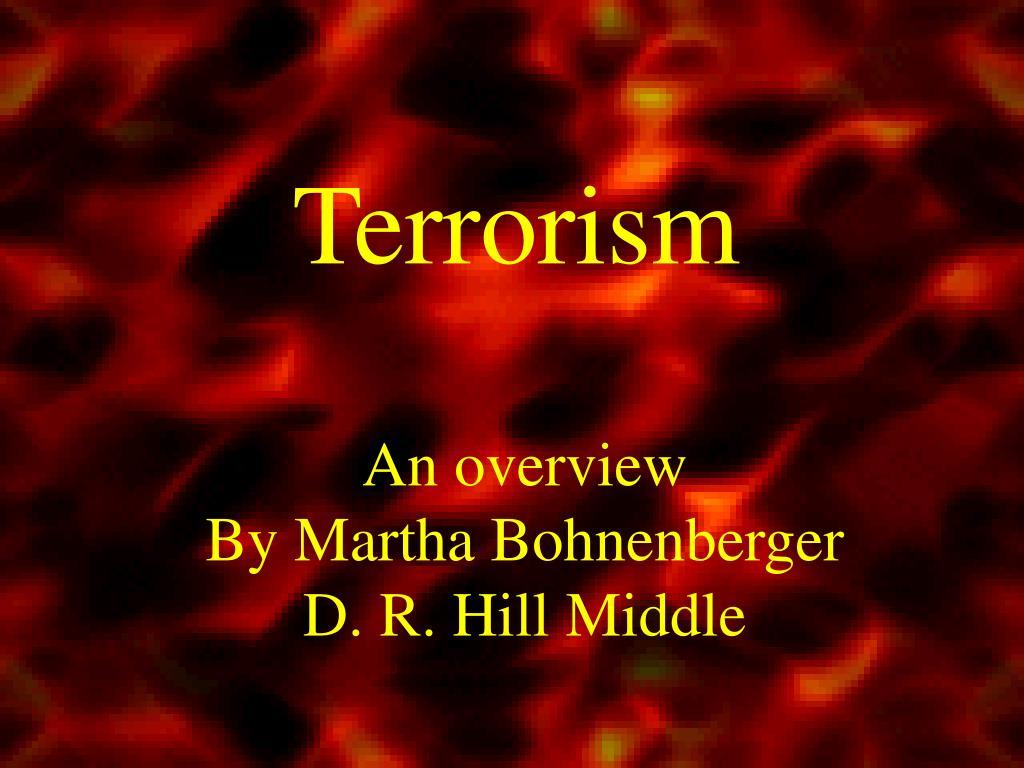 terrorism l.