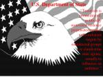 u s department of state