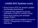 lausd eoc systems cont