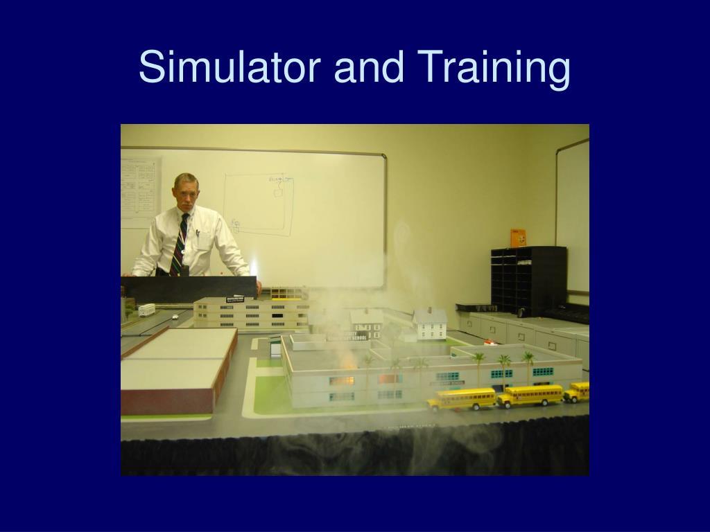 Simulator and Training