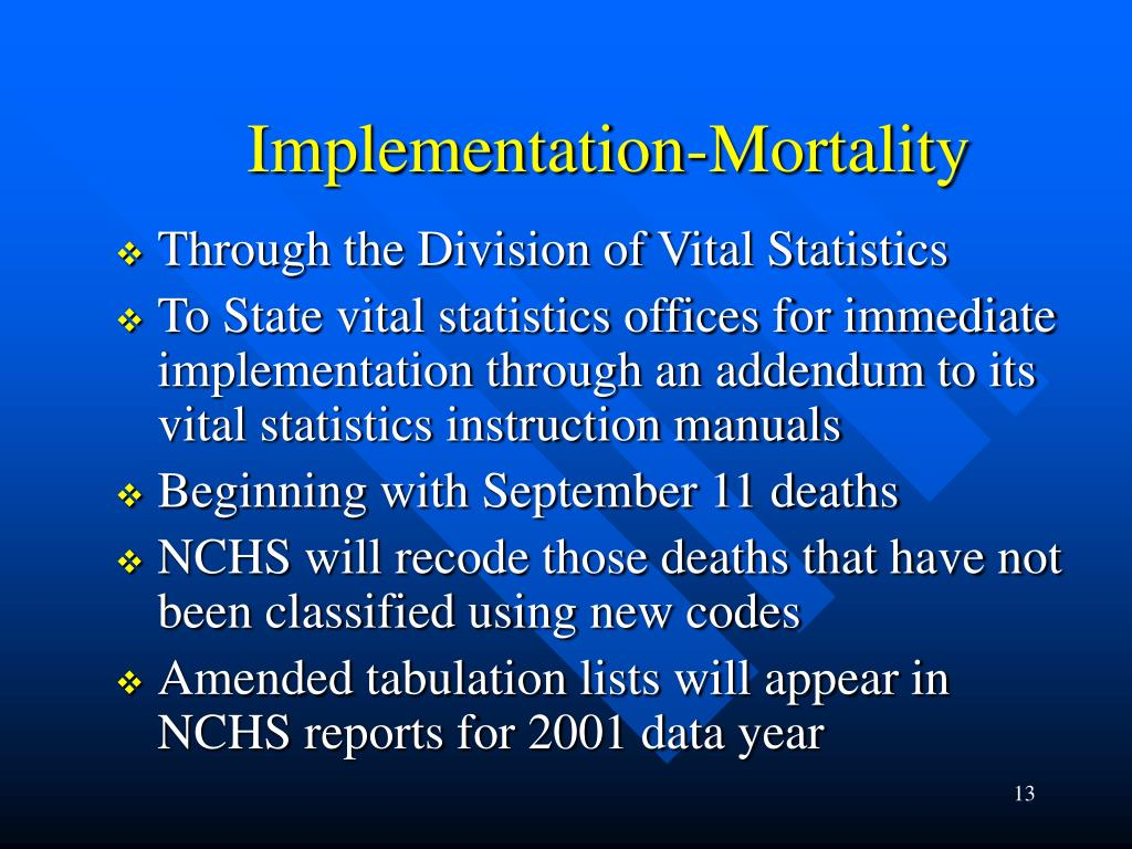 Implementation-Mortality