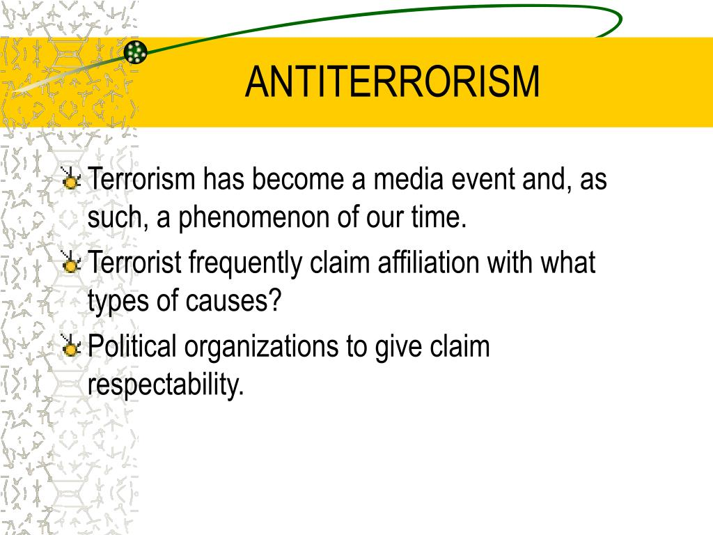 antiterrorism l.