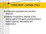 terrorist capabilities10