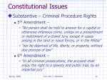 constitutional issues12