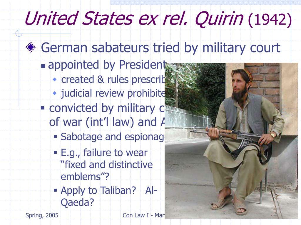 United States ex rel. Quirin