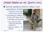 united states ex rel quirin 1942