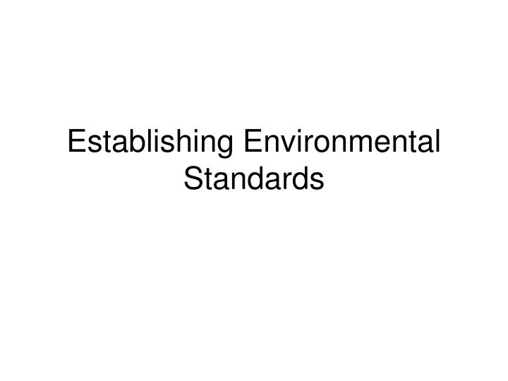 Ppt environment powerpoint presentation id:4230913.