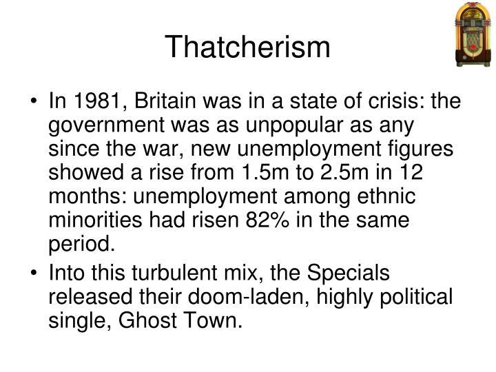Thatcherism