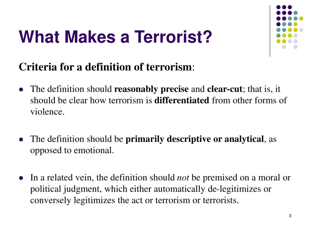 """the definitions of terrorism The dictionary definitions of terrorism are usually simple and oxford university press searches for the meaning of """"terrorism"""" in light of the recent attacks."""