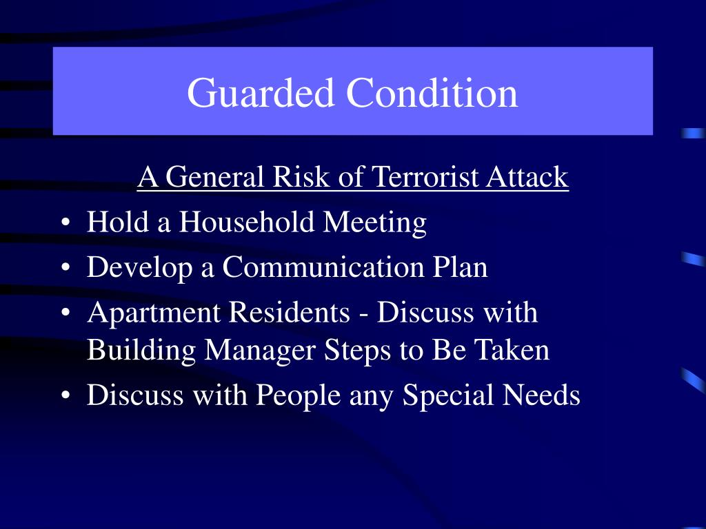 Guarded Condition