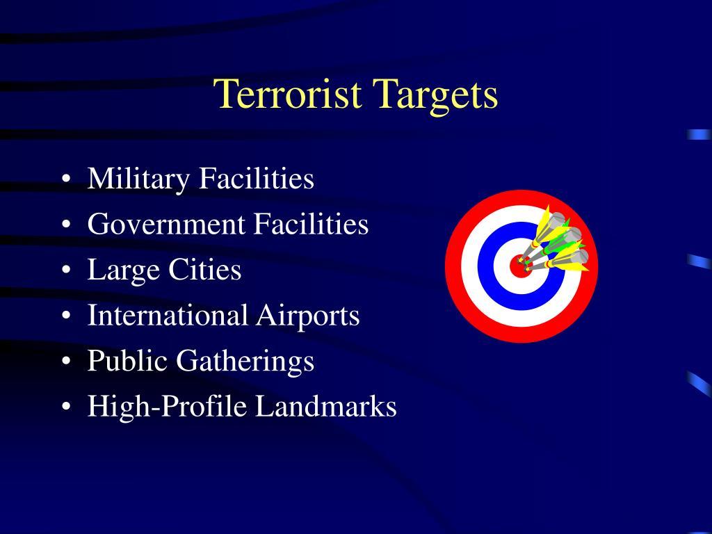 Terrorist Targets