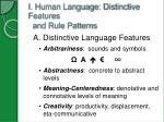 i human language distinctive features and rule patterns1