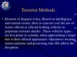terrorist methods13