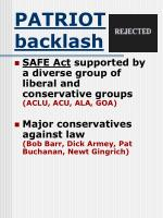 patriot backlash31
