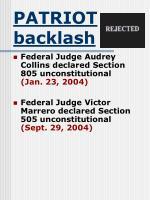 patriot backlash33