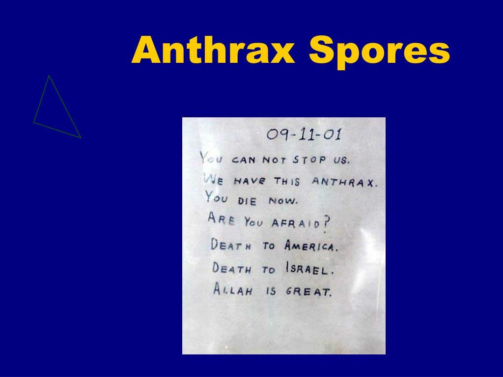 Anthrax Spores
