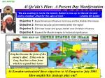 al qa ida s plan a present day manifestation