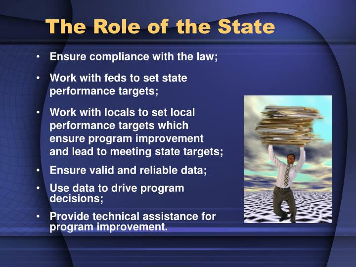 Ensure compliance with the law;