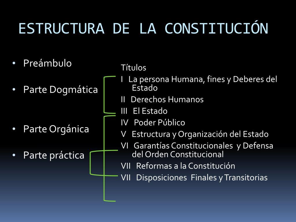 Ppt La Constitución Política De La República De Guatemala