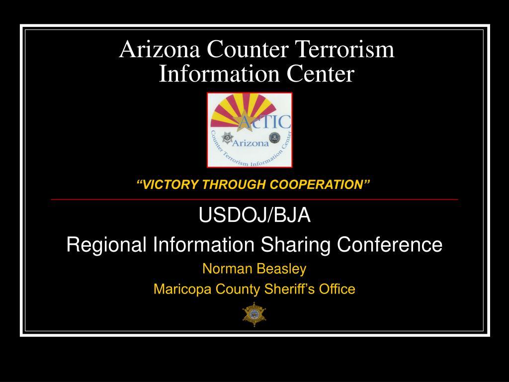 arizona counter terrorism information center l.