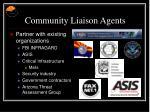 community liaison agents19
