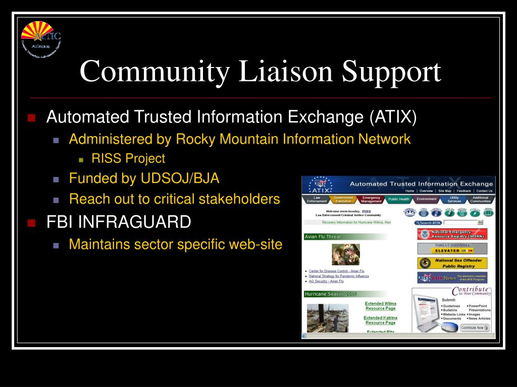 Community Liaison Support