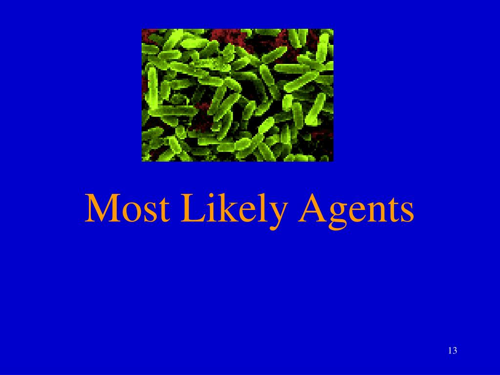 Most Likely Agents