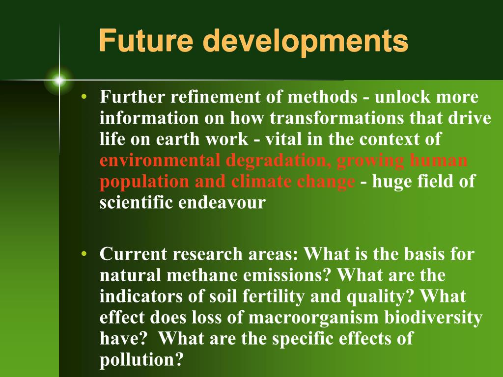 future developments l.